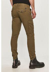 Jack & Jones - Spodnie. Okazja: na co dzień. Kolor: zielony. Styl: casual