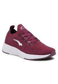 Bagheera - Sneakersy BAGHEERA - Destiny 86477-25 C5441 Plum/Pink. Okazja: na co dzień. Kolor: czerwony. Materiał: materiał. Szerokość cholewki: normalna. Sezon: lato. Styl: casual