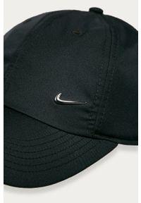 Czarna czapka z daszkiem Nike Kids