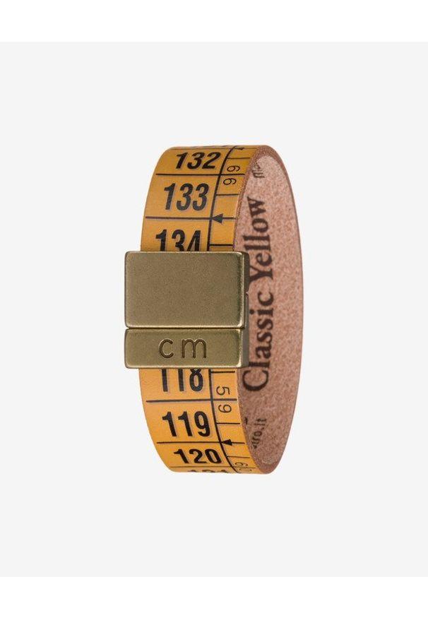 Żółta bransoletka Il Centimetro w kolorowe wzory