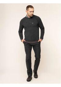 Tommy Hilfiger Tailored Spodnie materiałowe MERCEDES-BENZ Denton TT0TT05781 Szary Fitted Fit. Kolor: szary. Materiał: bawełna, materiał, poliester