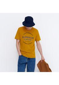 House - Koszulka z nadrukiem Superior - Żółty. Kolor: żółty. Wzór: nadruk