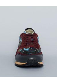 Czerwone sneakersy VALENTINO moro