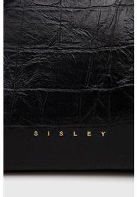 Sisley - Torebka. Kolor: czarny