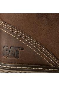 CATerpillar - Trzewiki CATERPILLAR - Trey P721888 Dark Beige. Kolor: brązowy. Materiał: skóra, nubuk. Styl: elegancki