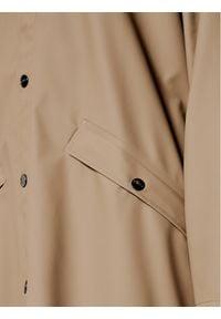 Rains Kurtka przeciwdeszczowa Unisex 1836 Brązowy Casual Fit. Okazja: na co dzień. Kolor: brązowy. Styl: casual