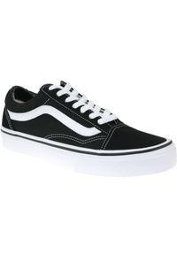 Czarne sneakersy Vans z cholewką