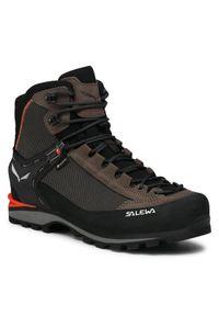Salewa Trekkingi Ms Crow Gtx GORE-TEX 7512 Czarny. Kolor: czarny. Technologia: Gore-Tex. Sport: turystyka piesza