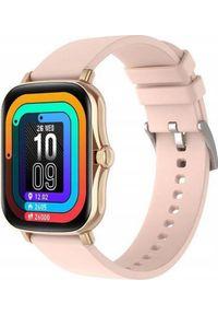 Smartwatch Bakeeley Y20 Beżowy. Rodzaj zegarka: smartwatch. Kolor: beżowy