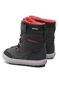 Czarne śniegowce Merrell