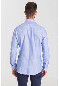 Niebieska koszula Joop! Collection na lato, na spotkanie biznesowe