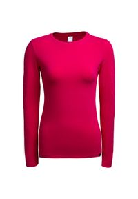 Różowy t-shirt outhorn