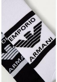 Emporio Armani Underwear - Emporio Armani - Skarpetki (2-pack). Kolor: biały