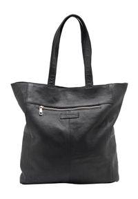 Czarna torebka DEPECHE. na ramię, duża