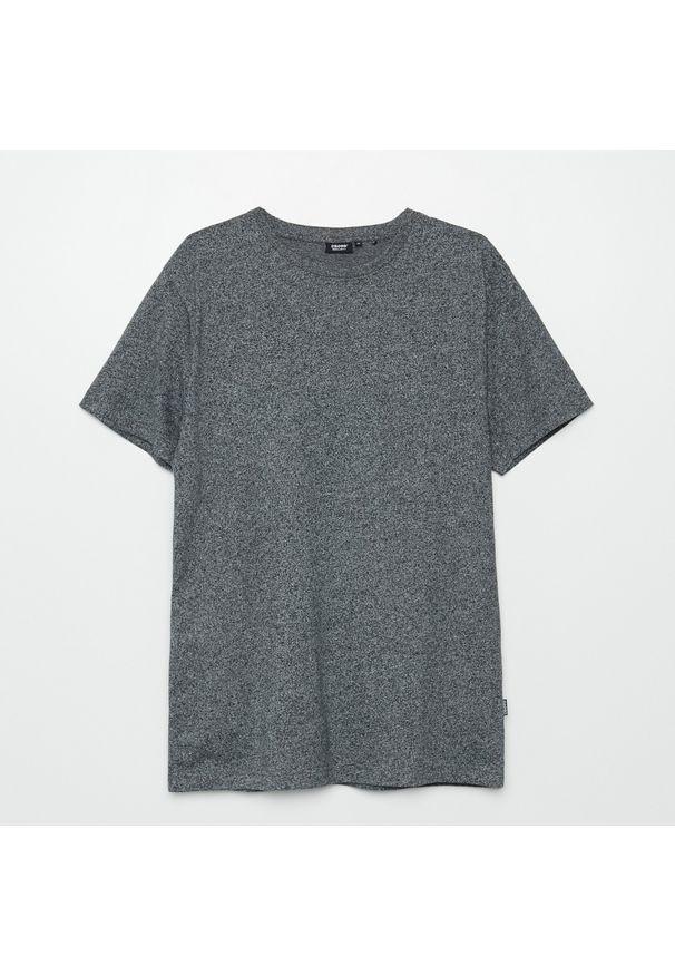 Cropp - Koszulka basic - Szary. Kolor: szary