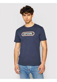 Rip Curl T-Shirt Surf Revival Hey Muma CTERP9 Granatowy Standard Fit. Kolor: niebieski