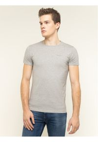 Pepe Jeans T-Shirt Orginal Basic PM503835 Szary Slim Fit. Kolor: szary