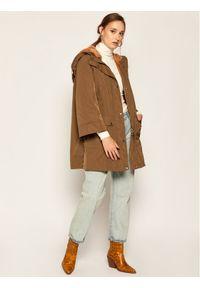 Zielony płaszcz przejściowy Marella