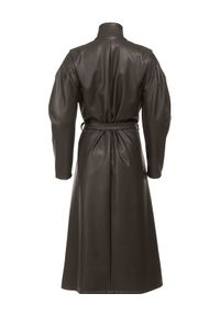 Czarny płaszcz ANIA KUCZYŃSKA elegancki