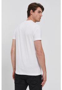 s.Oliver - s. Oliver - T-shirt bawełniany. Okazja: na co dzień. Kolor: biały. Materiał: bawełna. Wzór: nadruk. Styl: casual #4