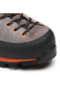 Garmont - Trekkingi GARMONT - Vetta Gtx GORE-TEX 002425 Dark Grey/Orange. Kolor: szary. Materiał: skóra, zamsz. Technologia: Gore-Tex. Sport: turystyka piesza