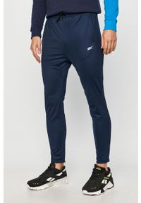 Niebieskie spodnie dresowe Reebok