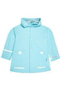 Playshoes Kurtka przeciwdeszczowa 408566 D Niebieski Regular Fit. Kolor: niebieski