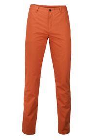 Pomarańczowe spodnie Ezreal casualowe, na co dzień