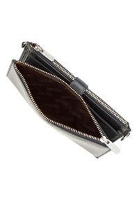 Wittchen - Damski portfel ze skóry z funkcją kopertówki. Materiał: skóra. Wzór: gładki #4