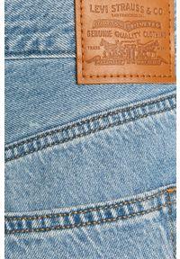 Levi's® - Levi's - Jeansy High Loose Taper. Okazja: na spotkanie biznesowe. Kolor: niebieski. Wzór: gładki. Styl: biznesowy