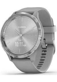 GARMIN - Zegarek sportowy Garmin Vivomove 3 Srebrny (010-02239-20). Kolor: srebrny. Styl: sportowy