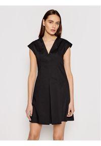 MAX&Co. Sukienka codzienna Siviglia 72210921 Czarny Regular Fit. Okazja: na co dzień. Kolor: czarny. Typ sukienki: proste. Styl: casual