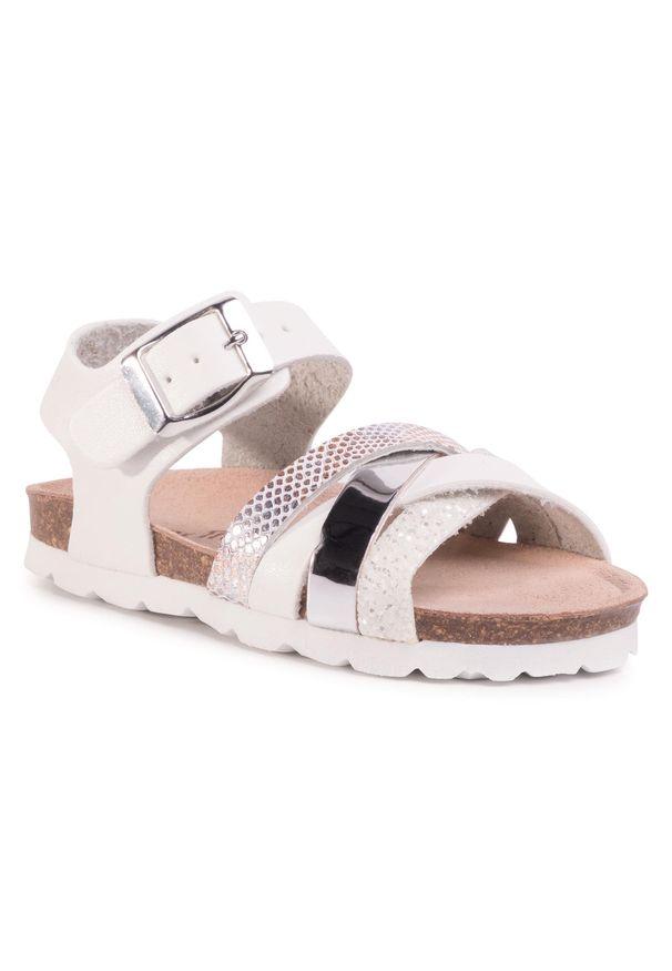 Białe sandały Les Tropeziennes