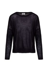 Czarny sweter Deha na lato, wakacyjny