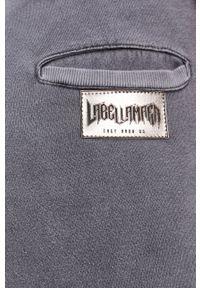 LABELLAMAFIA - LaBellaMafia - Spodnie. Kolor: szary