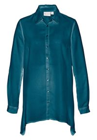 Niebieska bluzka bonprix długa