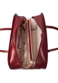 Torba na laptopa MCKLEIN Willowbrook 17 cali Czerwony. Kolor: czerwony. Materiał: skóra. Styl: retro #5