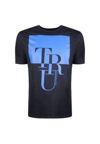 T-shirt Trussardi Jeans z okrągłym kołnierzem, z nadrukiem