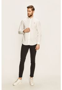 Czarne spodnie Levi's® na spotkanie biznesowe, w kolorowe wzory