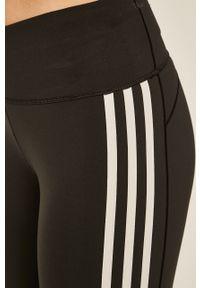 Czarne legginsy adidas Performance z aplikacjami