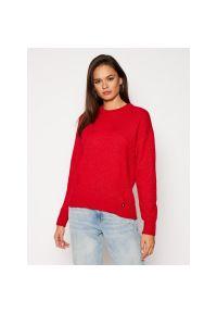 Czerwony sweter Calvin Klein Jeans