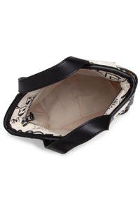 Desigual - Plecak DESIGUAL - 21SAKA13 1004. Kolor: beżowy, czarny, wielokolorowy. Materiał: materiał. Styl: elegancki, casual, sportowy