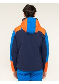 Niebieska kurtka sportowa Descente narciarska
