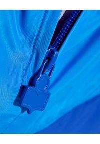 ISABEL MARANT - Niebieska kurtka Richili. Kolor: niebieski. Materiał: materiał. Długość rękawa: długi rękaw. Długość: długie