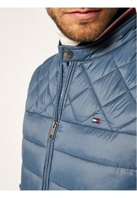 Niebieska kurtka zimowa TOMMY HILFIGER