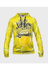 MegaKoszulki - Bluza męska fullprint z kapturem Lemonade. Typ kołnierza: kaptur. Materiał: dresówka, dzianina