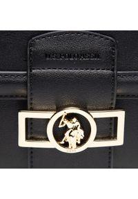 U.S. Polo Assn - Torebka U.S. POLO ASSN. - Lockhart Flap Crossbody BEULK5061WVP000 Black. Kolor: czarny. Materiał: skórzane. Styl: klasyczny