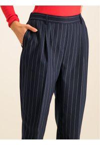 TOMMY HILFIGER - Tommy Hilfiger Chinosy Frankie WW0WW25559 Granatowy Regular Fit. Kolor: niebieski