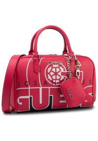 Różowa torebka klasyczna Guess klasyczna