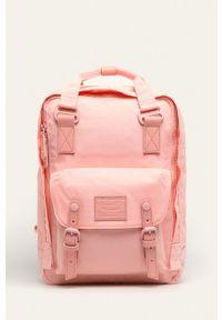 Doughnut - Plecak Macaroon Pastel Series. Kolor: różowy. Wzór: paski